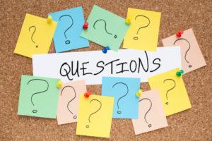 Keep on asking!