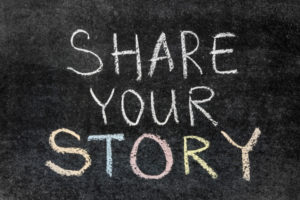 words share your story