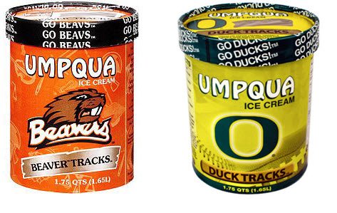 UO and OSU ice cream