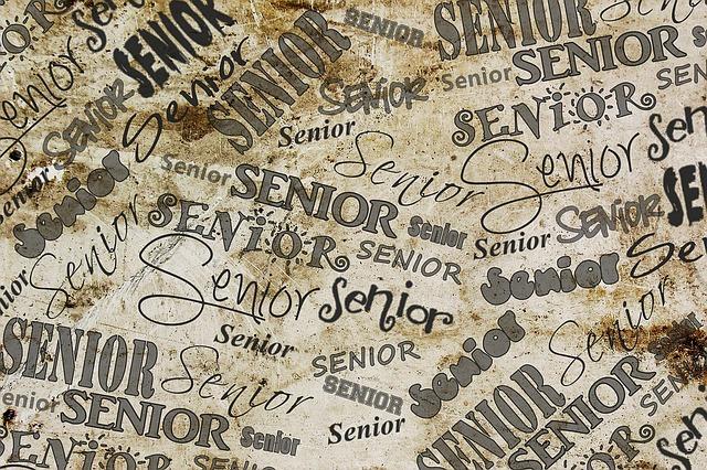 graduation and senior written all over