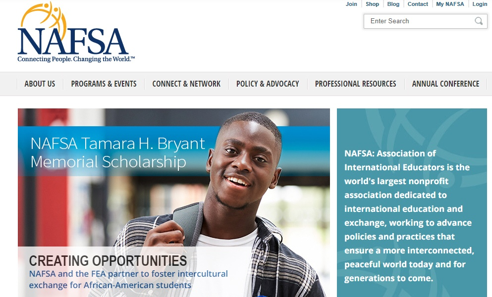NAFSA website