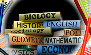 textbooks biology history etc