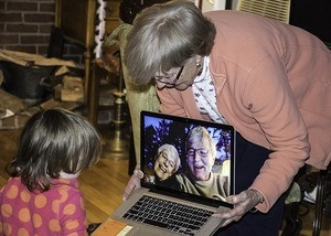 grandparents on skype