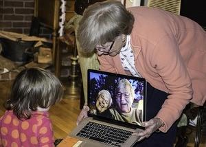 grandparents on skype