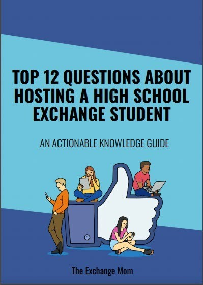 book cover Top 12 Questions About Hosting A High School Exchange Student